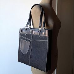 Buy your handbag Dior on Vestiaire Collective, the luxury consignment store online. Second-hand Handbag Dior Black in Denim - Jeans available. Dior Handbags, Black Denim Jeans, Vintage Bags, Hermes Kelly, Luxury Consignment, Stuff To Buy, Collection, Women, Fashion