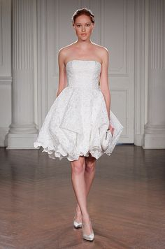 237 best Short Wedding Dresses images on Pinterest in 2018   Bridal ...