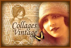 imágenes vintage gratis botón