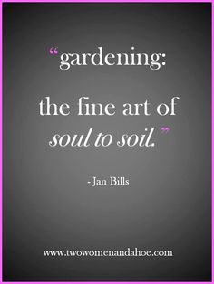 So glad I get this....everyone can garden....it can be a plant, a flower or a few vegetables...just can't explain what it does for you:)