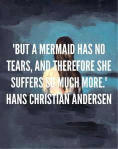The Little Mermaid...such an inspirational story