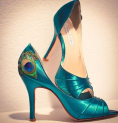Peacock heels! OH GOD, YES!!