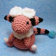 Pokemon Amigurumi:  Flaaffy  Source: amigurumikingdom on deviantART