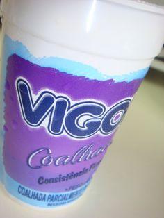 Exemplo 4: Pote de Iogurte.  Classificação: PS - poliestireno. Local encontrado: Supermercado.