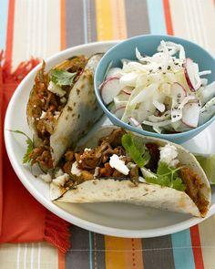 Shredded-Pork Tacos - Martha Stewart Recipes