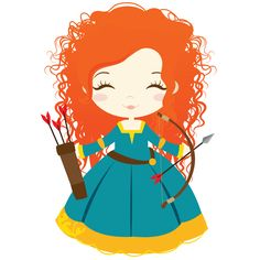Ideas for disney art ideas merida Disney Kunst, Arte Disney, Disney Art, Disney Pixar, Disney Princess Babies, Disney Princess Party, Baby Disney, Stickers Kawaii, Brave Merida