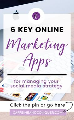 6 Key Online Marketing Apps for Managing Your Social Media Strategy // Caffeine and Conquer -- Social Media Analytics, Social Media Marketing Business, Online Marketing Strategies, E-mail Marketing, Facebook Marketing, Social Media Tips, Content Marketing, Digital Marketing, Social Media Management Tools
