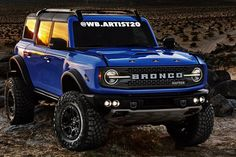 Classic Bronco, Classic Ford Broncos, Classic Trucks, New Bronco, Early Bronco, Jacked Up Trucks, Ford Trucks, Ford Bronco Concept, Used Ford