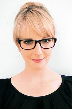 'The Big Bang Theory' actress, Melissa Rauch! MarchoNYC optical style 'Grand!'