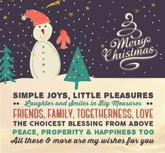 197 best christmas picture messages images on pinterest christmas simple joys little pleasures laughter and smiles christmas greetings m4hsunfo