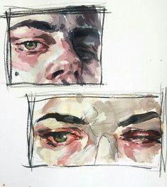 Art by Elly Smallwood. Art Inspo, Art Sketches, Art Drawings, Elly Smallwood, Art Du Croquis, Arte Sketchbook, Ouvrages D'art, Art Et Illustration, Art Hoe