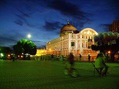 Manaus, Brazil: The famous opera house!