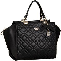 Guess Ines Satchel Black - Handtasche
