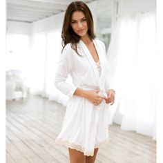 Robes and chemises from Eberjey make us happy!   Perfect for bridal or a summer beach house, don't you think?