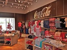 The Coca-Cola Museum in Atlanta:Lots of goodies.  this is a fairly recent photo too.