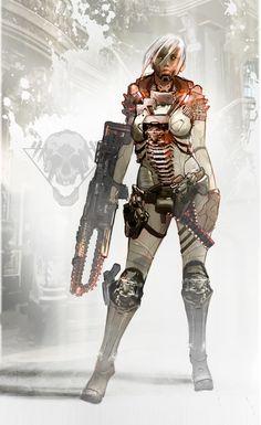 ArtStation - Style matching - Gears of War, Josh Norman