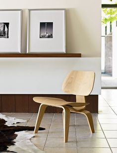Eames® Molded Plywood Lounge Chair, LCW - Design Within Reach