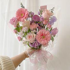 Dried Flower Bouquet, Dried Flowers, Bunch Of Flowers, Beautiful Flowers, Flower Aesthetic, Pink Aesthetic, Flower Meanings, Blooming Flowers, Flower Designs