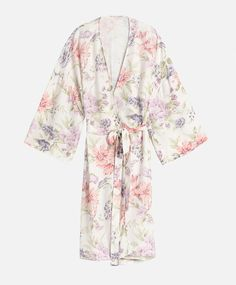 Lily flower long sleeve dressing gown - New In - Autumn Winter 2016 trends in…