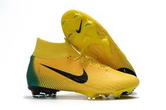separation shoes 598a2 5017b New Nike Mercurial Superfly VI 360 Elite FG Soccer Cleats -  Yellow Black Green