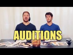 You need to watch this video!!!! 8 ways to fail an audition misterepicmann
