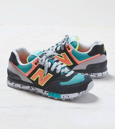 Black New Balance 574 Sneaker New Balance Outfit, New Balance Shoes, Sock Shoes, Shoe Boots, Shoe Bag, Crazy Shoes, Me Too Shoes, New Balance 574, Vintage Adidas