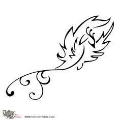 Tatuaggio di Fenice, Eternità, rinascita tattoo - custom tattoo designs on TattooTribes.com
