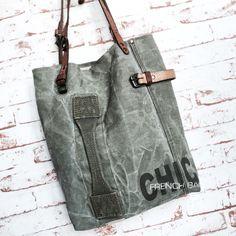 SO Chic Kaki bag  www.sobenstore.bigcartel.com