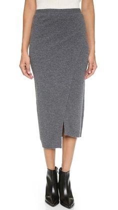 Joseph wool skirt