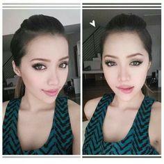 Michelle Phan cat eye look