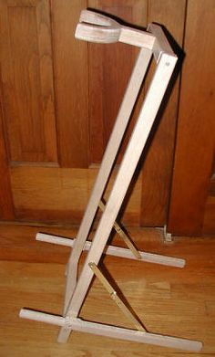 build your own guitar stand