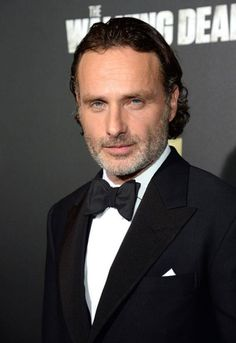 Andy eye-f*cking the camera at TWD S6 premiere