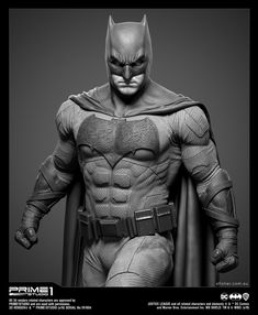 This is the Justice League Batman statue that I worked on for Prime 1 Studio. As a huge Batman fan, this was an amazing project to be a part of. Dc Comics Poster, Batman Poster, Real Batman, Batman Art, Batman Universe, Comics Universe, Black Panther Drawing, Marvel Fight, Batman Redesign