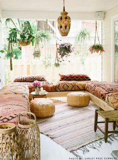 Love these bohemian cushions. Boho vibes bringing me to a zen state of mind #bohemian #boho #indoor