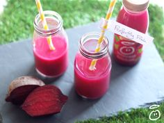 Our new perfectly pink smoothie is very pink. Just to reassure everyone, no flamingos or Disney Princesses were blended in the making of this smoothie. Just sweet pear, crisp apple, and a dash of beetroot, to give you 2 of your 5 a day in every bottle.