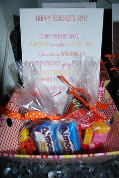 Cute teacher appreciation gift