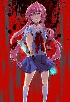70 ideas for dairy queen art mirai nikki Manga Girl, Oc Manga, Chica Anime Manga, Kawaii Anime, Yandere Girl, Yandere Anime, Animes Yandere, Yuno Mirai Nikki, Mirai Nikki Future Diary