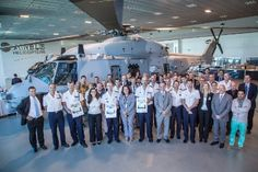 Airbus Helicopters, DGA, French Navy mark the handover of the 15th NH90 NFH multimission naval helicopter