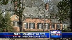 Muslim squatters stealing mansions. Simply Amazing and total BS that this is allowed to happen!!!!! 26FEB14