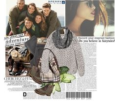 """Weekend Wear with Sperry Top-Sider//The Truth"" by fashionflux on Polyvore"