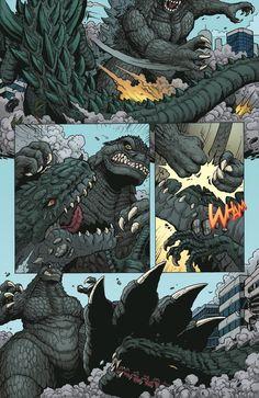 Godzilla: ROE issue 2 - page 4 by KaijuSamurai (Matt Frank)