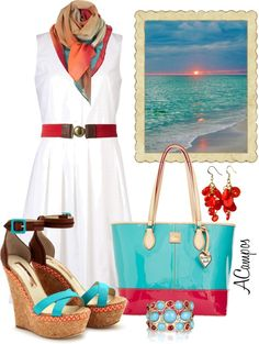 """Sunsets Contest"" by anna-campos ❤ liked on Polyvore"