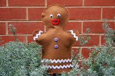 Gingerbread Man Puppet Tutorial
