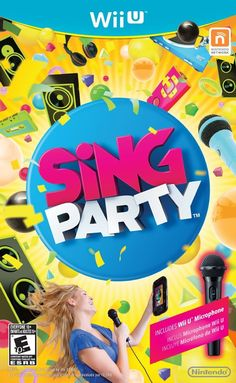 Sing Party Game with Microphone [Wii U Game]