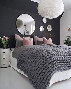 Cute Bedroom Ideas, Cute Room Decor, Girl Bedroom Designs, Room Ideas Bedroom, Home Decor Bedroom, Girls Bedroom, Bedroom Art, Night Bedroom, Bedroom Rustic