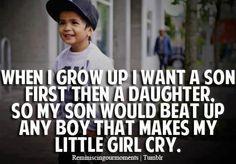 Yes. Asian boy cute though :)