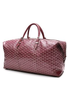 Such a pretty Goyard travel bag