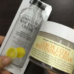 ((CLICK TO PLAY VIDEO)) Introducing the Chamos Acaci Lemon Ultra Whitening cream and the Chamos Acaci Snail Repair Cream 100% natural made in Korea bestselling moisturizers! . Lemon ultra is a water based moisturizer that has water drop texture that does not leave any oily residue. It contains only organic ingredients and leaves your skin feeling moisturized and it will hydrate your skin.  Snail Repair Cream is an anti wrinkle anti aging cream that will help with skin elasticity making your…