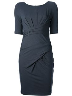 CARVEN Twist Front Dress