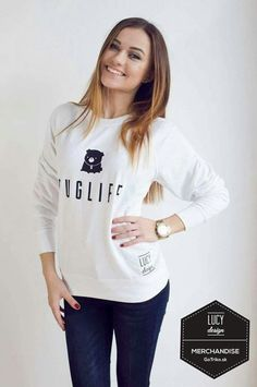 Youtubers, Pugs, Marie, Graphic Sweatshirt, Celebrity, Sweatshirts, Sweaters, Outfits, Fashion